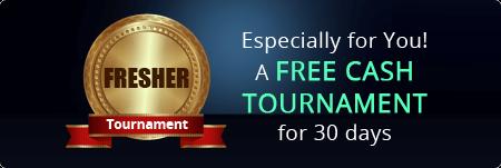 free cash tournament
