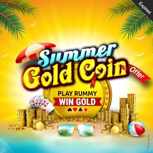Summer Gold Coin Offer
