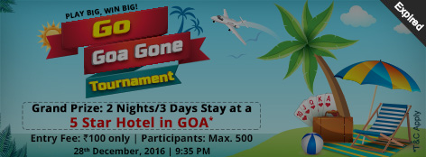Go Goa Gone Tournament