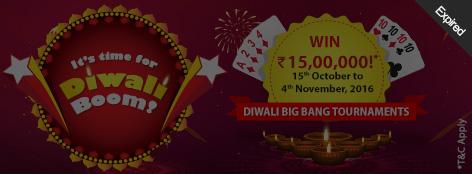 Diwali Big Bang Tournaments