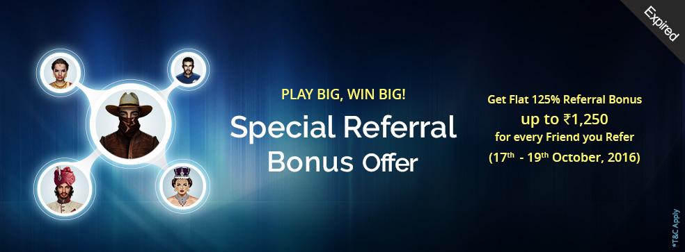 Special Referral Bonus Offer