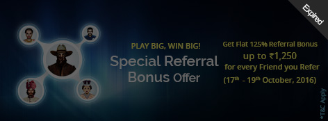 Special Referral Bonus Offer