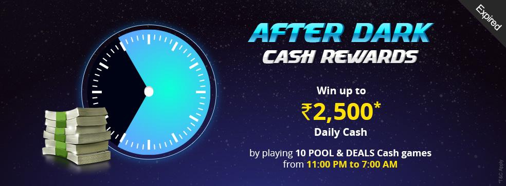After Dark Cash Rewards