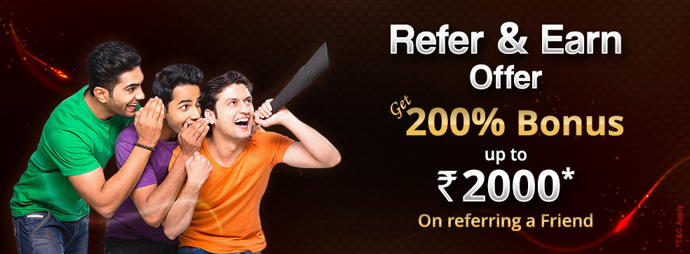 Refer & Earn Offer