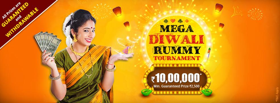 Mega Diwali Rummy Tournament