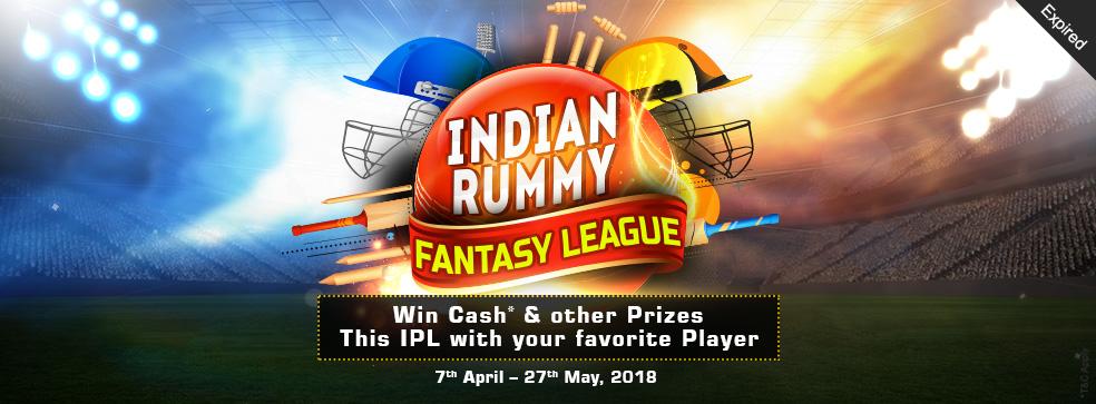 Indian Rummy Fantasy League