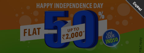 Happy Independence Day Offer