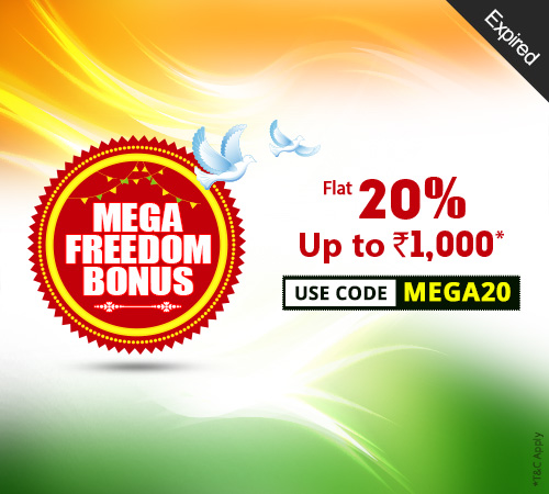 Mega Freedom Bonus Offer