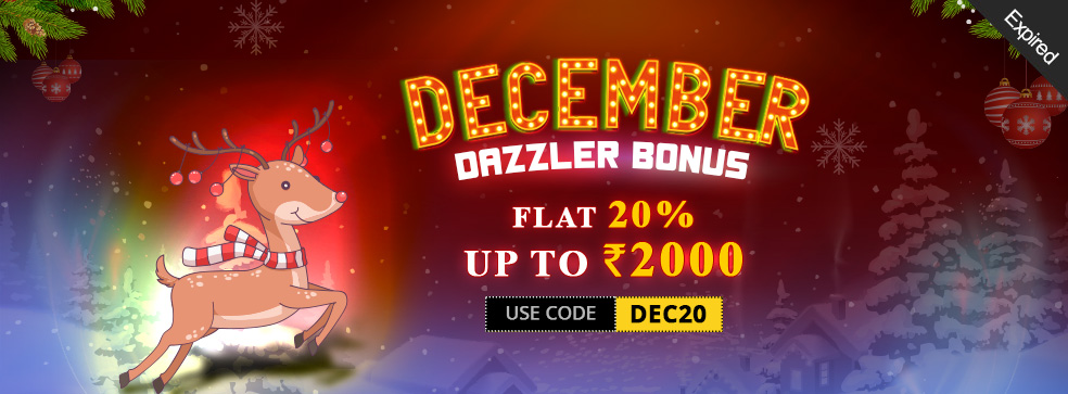 December Dazzler Bonus