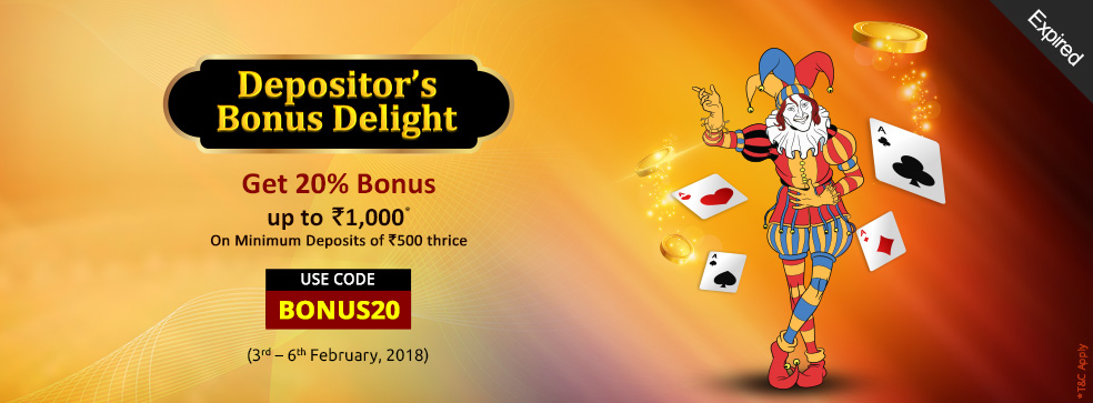 Depositor's Bonus Delight