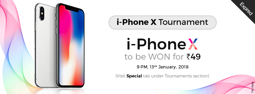i-Phone X Tournament
