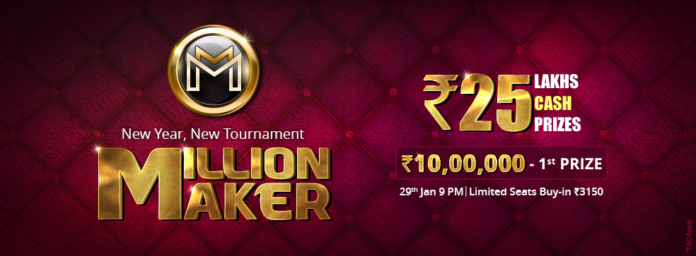 Million Maker Rummy Tournament