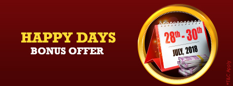 Happy Days Bonus Offer