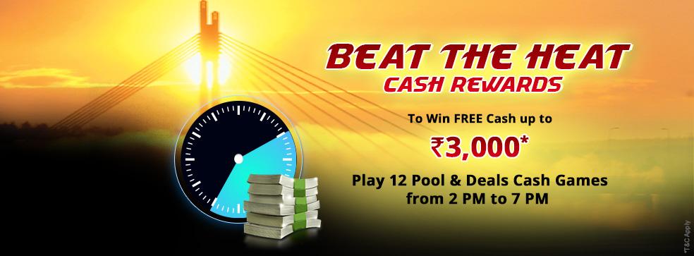 Beat the Heat Cash Rewards