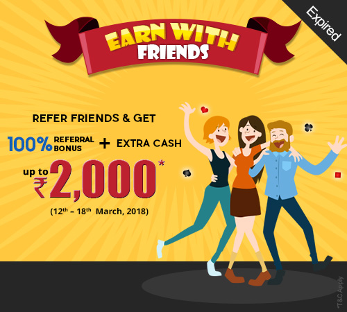 Earn with Friends Offer