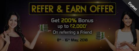 Refer & Earn Offer