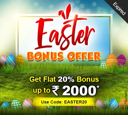Easter Bonus Offer