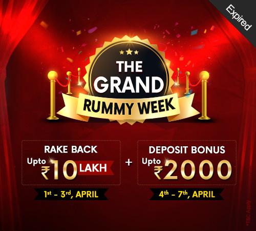 The Grand Rummy Week