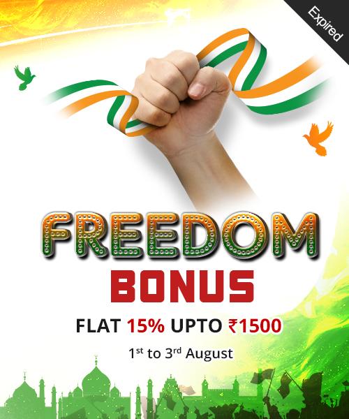 FREEDOM BONUS