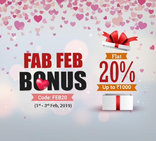 Fab Feb Bonus