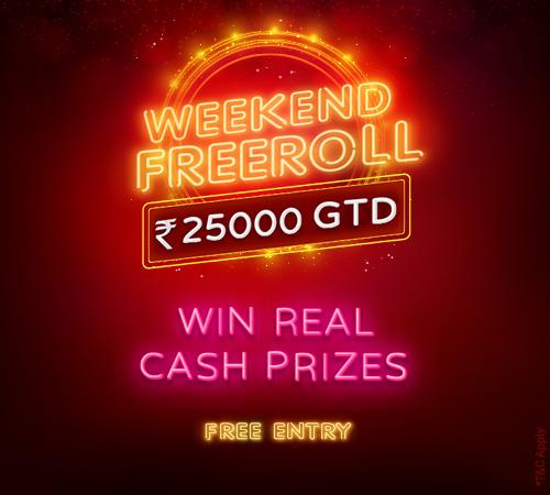 Weekend Freeroll Tournament