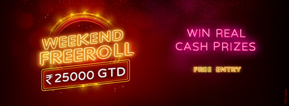 Weekend Freeroll Tournament