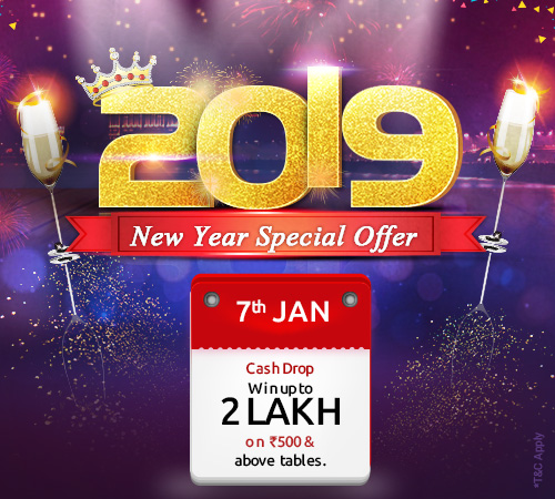 New Year Cash Drop