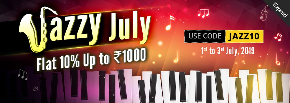 Jazzy July Bonus