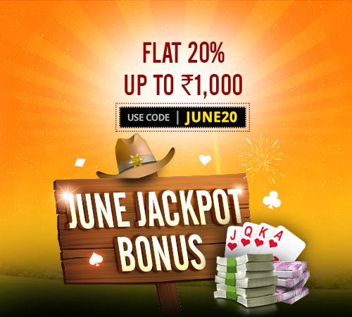 June Jackpot Bonus
