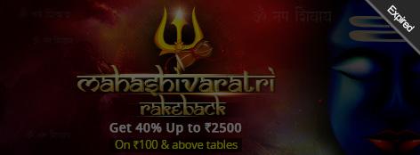 Maha Shivaratri Rake Back