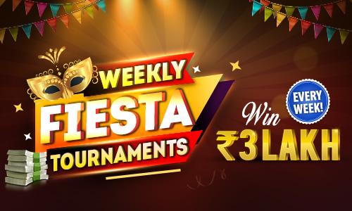 Weekly Fiesta Tournaments