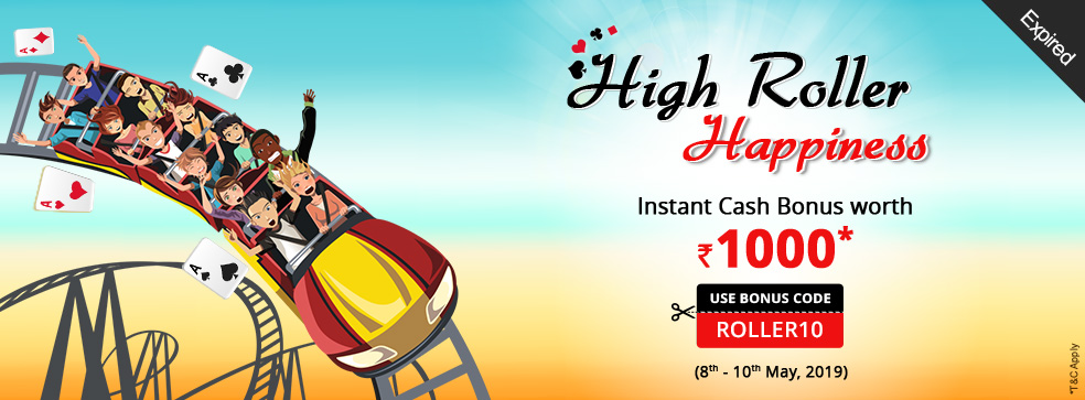 High Roller Happiness Offer