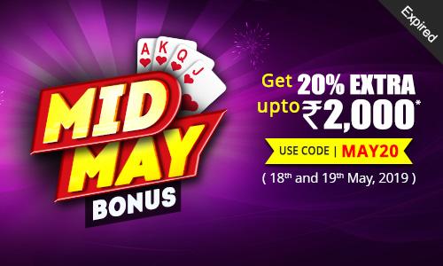 Mid May Bonus