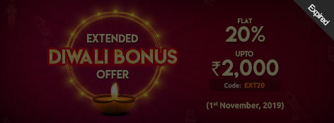 Extended Diwali Bonus Offer