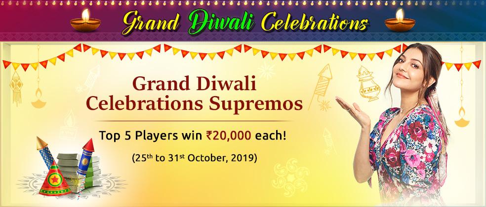 Grand Diwali Celebrations Supremos