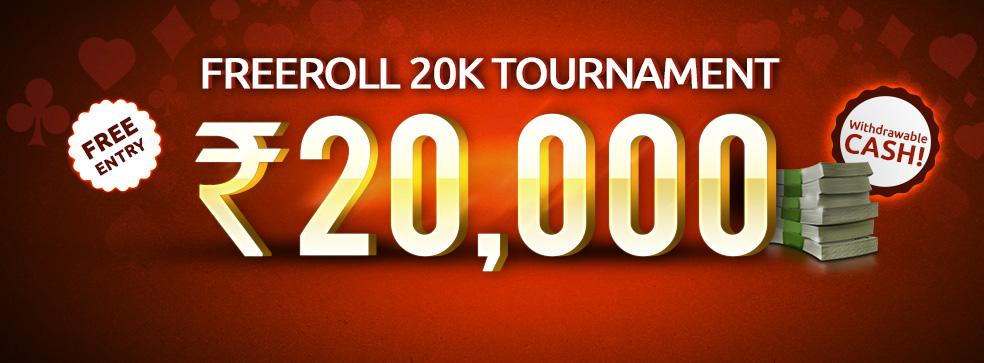 Freeroll 20K Tournament