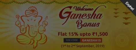 Welcome Ganesha Bonus Offer