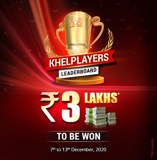 KhelPlayers Leaderboard