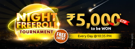 Night Freeroll Tournament