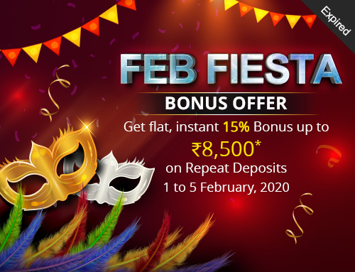 Feb Fiesta Bonus Offer