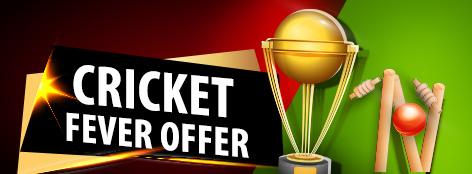 Cricket Fever Offer