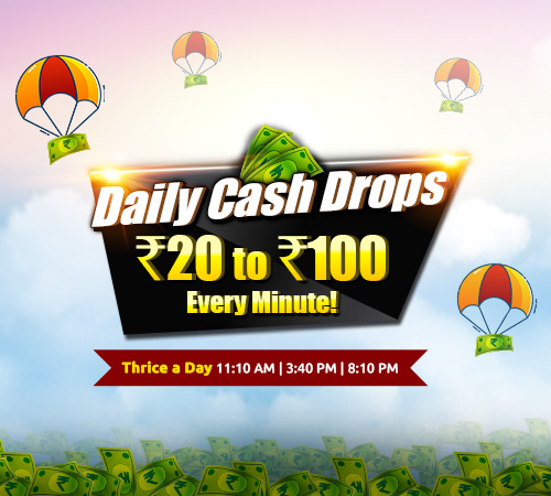 Daily Cash Drops