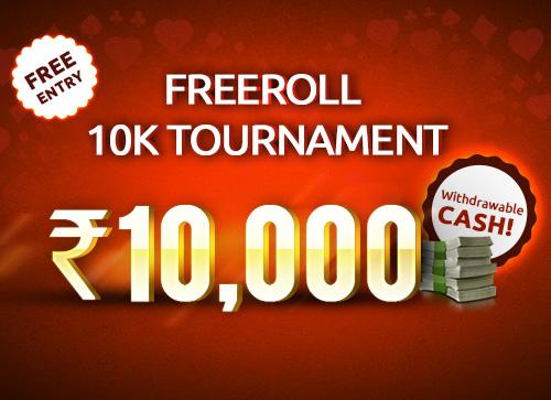 Freeroll 10K Tournament