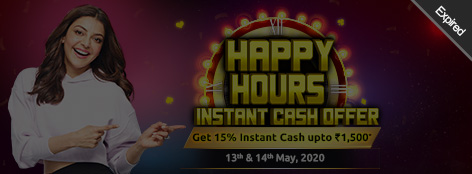 Happy Hours INSTANT Cash Offer