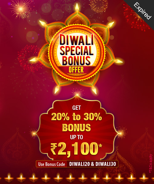 Diwali Special Bonus Offer