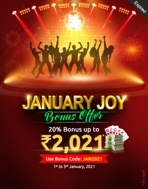 January Joy Bonus Offer