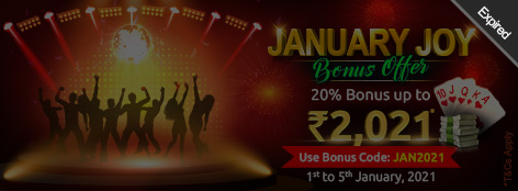 January Joy Bonus Offer
