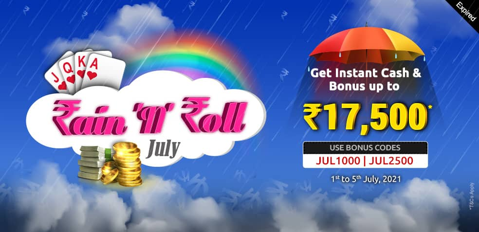 Rain 'n' Roll July Offer