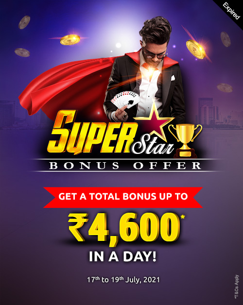 Superstar Bonus Offer