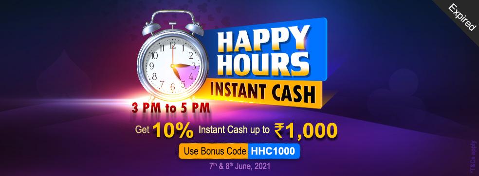 Happy Hours – Instant Cash